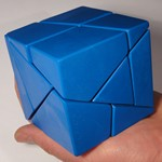 Tony Fisher's Blue Golden Cube Puzzle